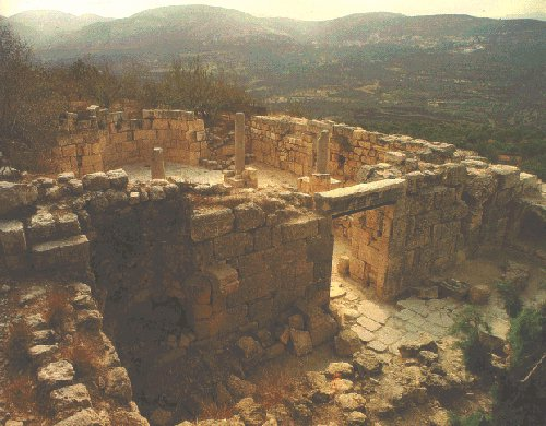 Ruins on the Hill of Samaria